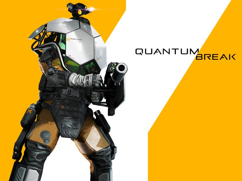 Illustration for article titled Quantum Break Armored Trooper Wallpaper