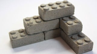 Illustration for article titled Build a Stone Wall With These Lego-Inspired Concrete Blocks