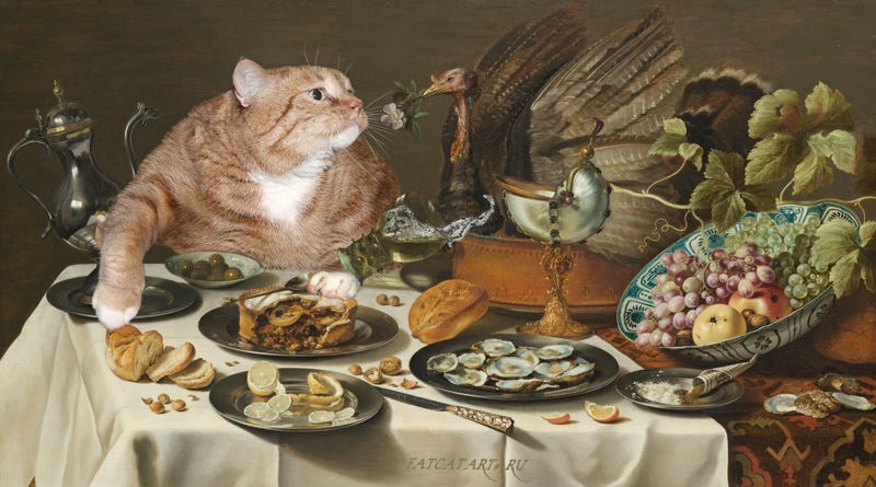 Illustration for article titled Truth and Beauty and Orange Cats Forever.