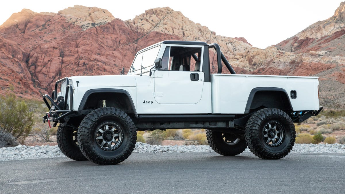 The Jeep Cj 10 Is The Ugliest Jeep Truck Ever But This One Is Glorious