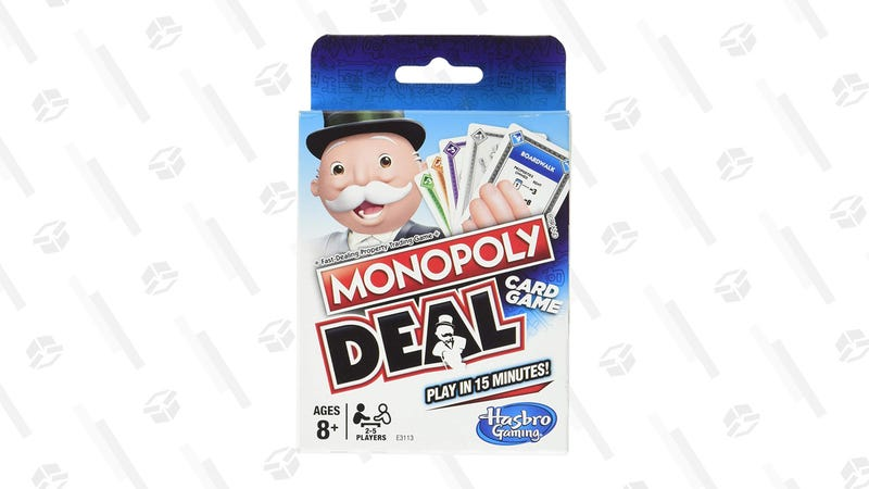Monopoly Deal Card Game | $4 | Amazon