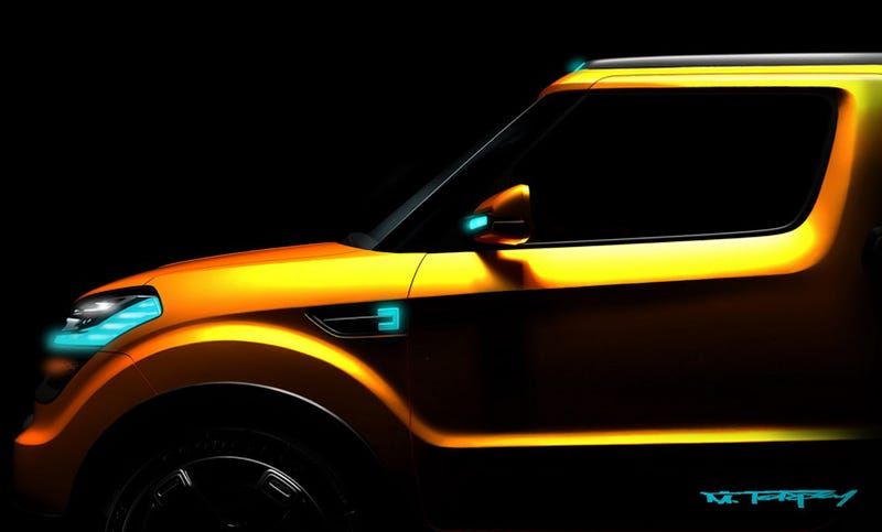 Illustration for article titled Kia Soul-Based Concept Teased Ahead Of Detroit