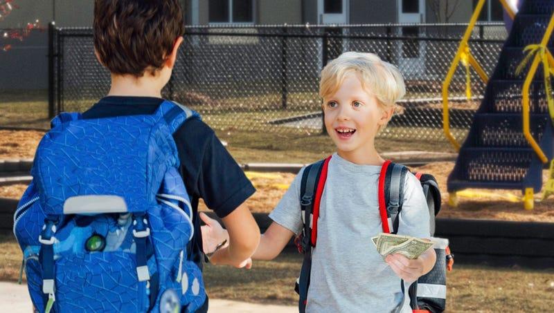 Illustration for article titled Child Venture Capitalist Invests $2.50 In Friend's Slug-Eating Enterprise