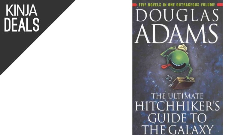 Illustration for article titled Today's Best Media Deals: Hitchhiker's Guide, Daily Show Guests, More