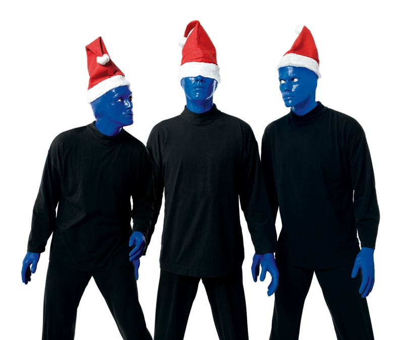 Illustration for article titled Has Anyone Here Seen The Blue Man Group?