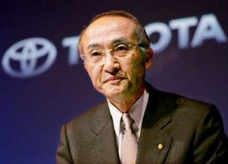 Illustration for article titled Toyota President Ken Watanabe Expected To Step Down In 2009