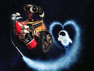 Illustration for article titled The Robot Love Song Of Wall-E And EVE