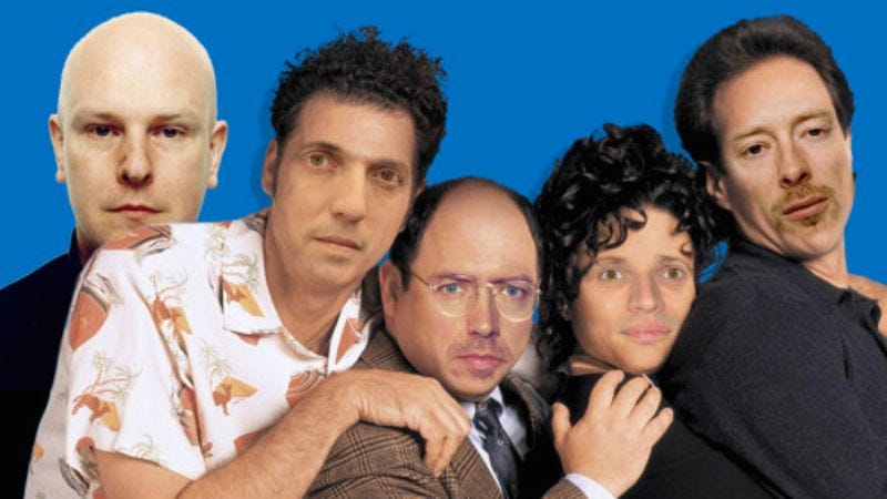 Illustration for article titled Radiohead mashed up with the Seinfeld theme song, just because