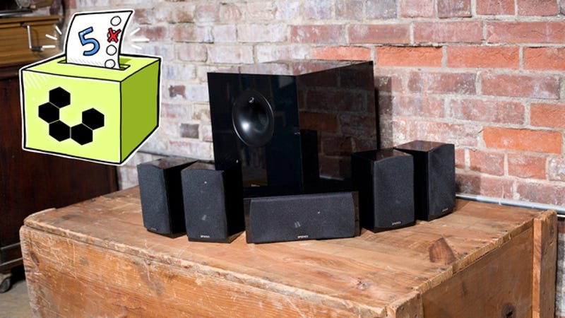 A Great Set Of Surround Sound Speakers Can Make Any Home Theater Come To  Life With Rich And Vibrant Sound That Fills Whatever Space You Have Them  Set Up In.