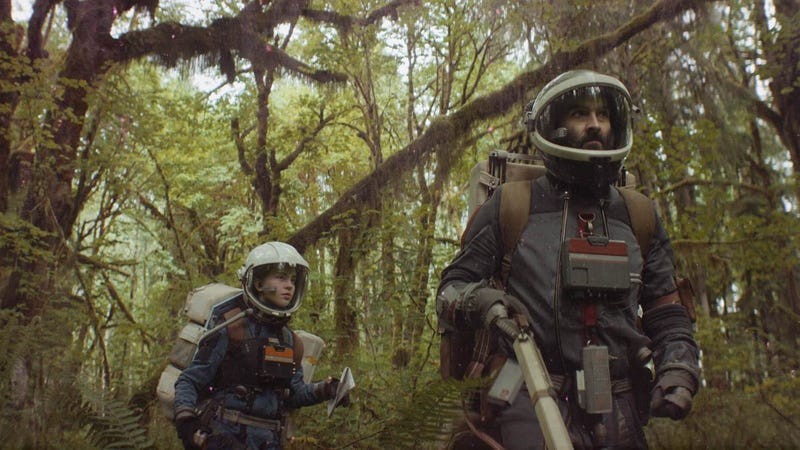 Sophie Thatcher and Jay Duplass are part of a sci-fi gold rush in Prospect.