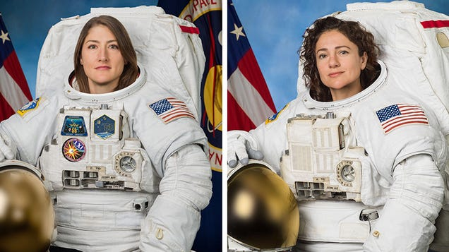 First All-Women Spacewalk Scheduled for Tomorrow Morning
