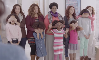 Screenshot from the film for the Love Your Curls campaign YouTube