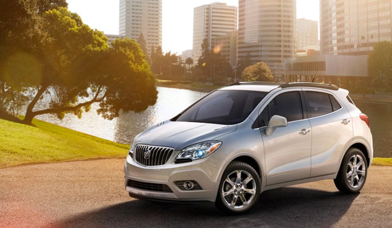 Buick Recalls Encore Because An Insignificant Part Called The 'Steering Wheel' Might Fall Off