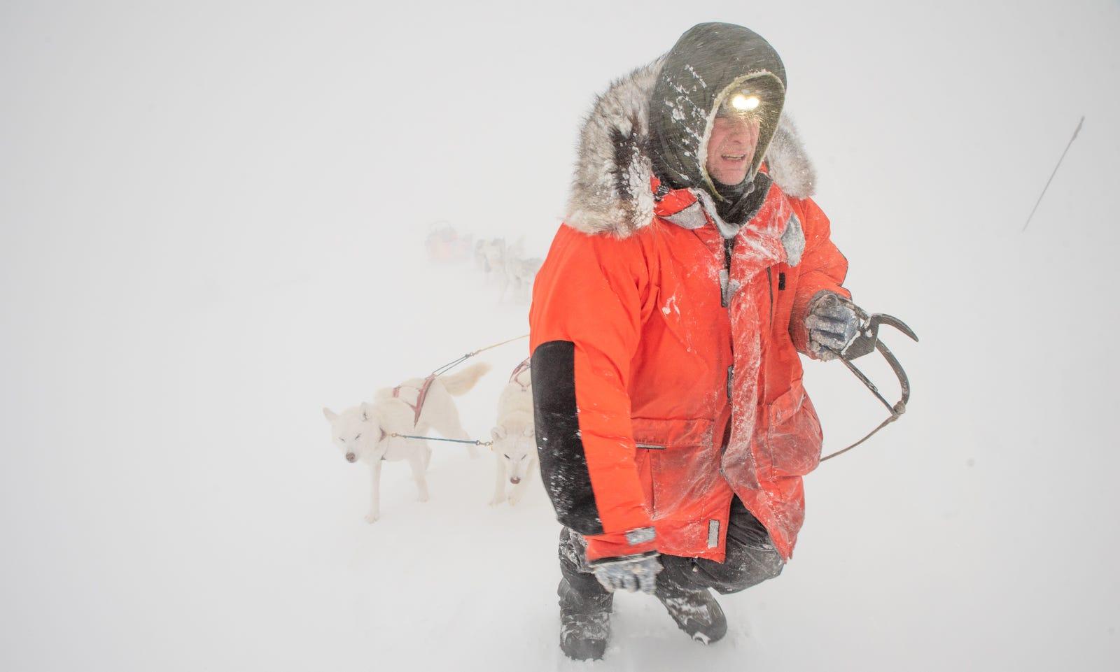 Three Mushers, One Impenetrable Blizzard, And The World's Hardest Dog Sled Race