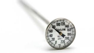 Most Of Us Have Meat Or Cooking Thermometers We Use Around The Kitchen, But  How Often Have You Thought About Calibrating It To Make Sure The Readings  Are ...