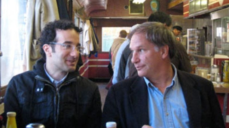Illustration for article titled Jad Abumrad and Robert Krulwich