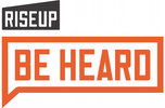 Rise Up: Be Heard logo