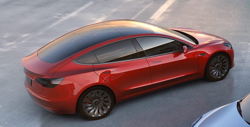 Illustration for article titled Este es el gran problema de diseño del Tesla Model 3