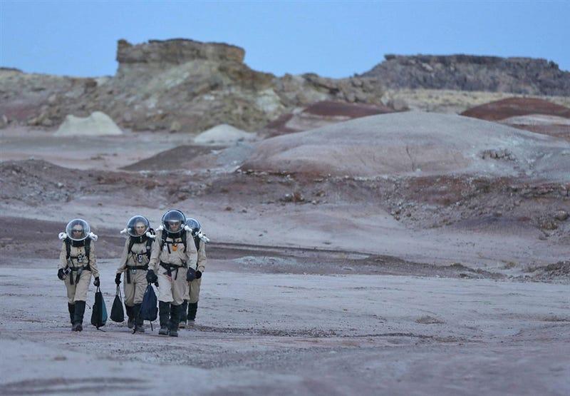 Illustration for article titled Si alguna vez el hombre pisa Marte, veremos algo muy parecido a esto