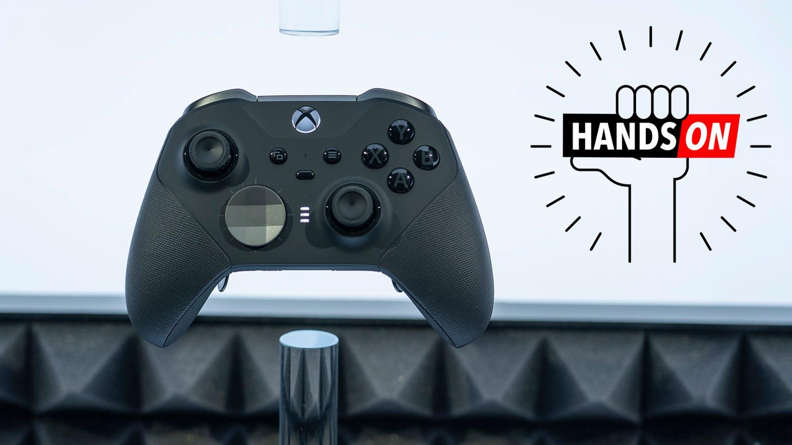 Microsoft's Elite Series 2 Controller Feels Like an