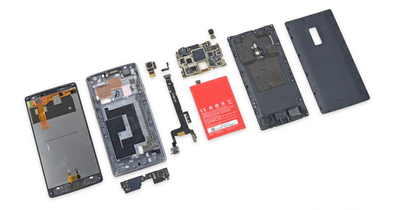 El OnePlus 2 se deja ver por dentro: modular y más sencillo de reparar