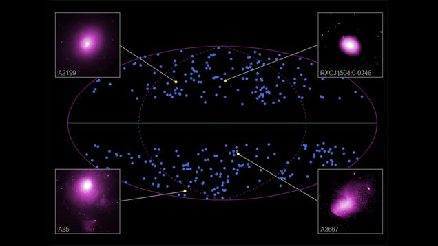The Universe Might Be Expanding Like a Lumpy Balloon
