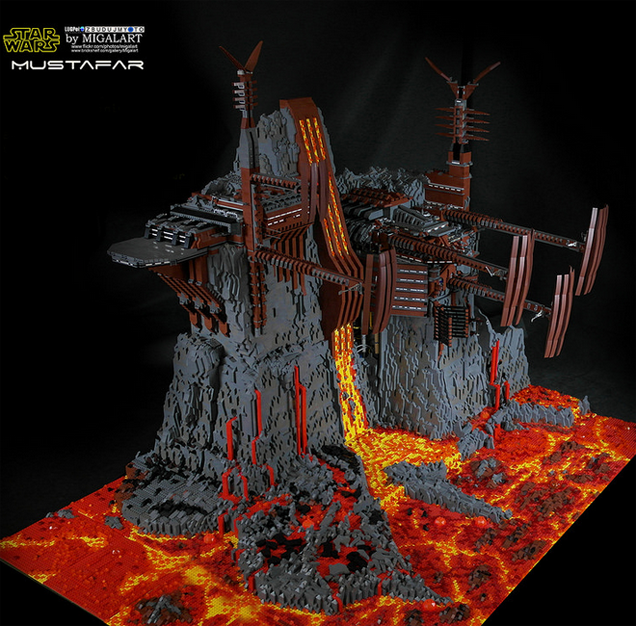 Lego Star Wars Build Is A Huge 60 000 Piece Work Of Art