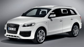 Illustration for article titled 2009 Audi Q7 V12 TDI Revealed With Unbelievably Powerful Diesel Engine