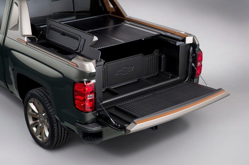 Chevy Avalanche-Style 2015 Chevy Silverado Looks ...