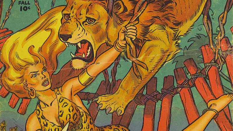 Illustration for article titled Dynamite's New Tarzan Comic Reunites Him With Sheena, Comics' First-Ever Leading Female Hero