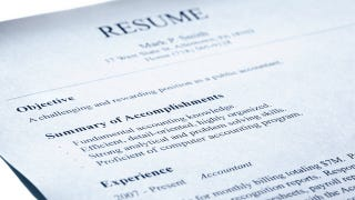 leave your old job description off your resumé list your
