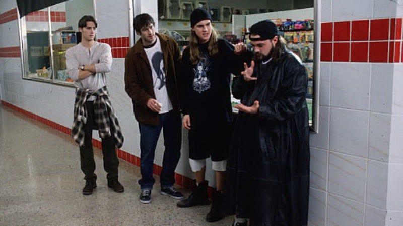 Kevin Smith casting Mallrats 2