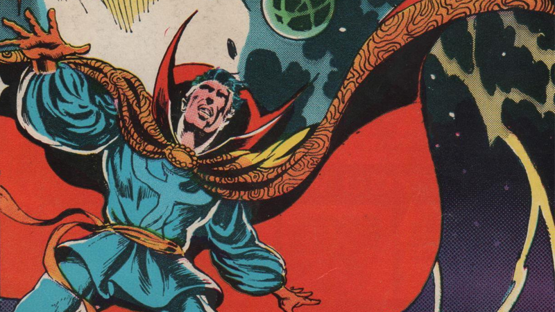 Illustration for article titled The 7 Strangest Moments in Doctor Strange's Weird, Trippy History