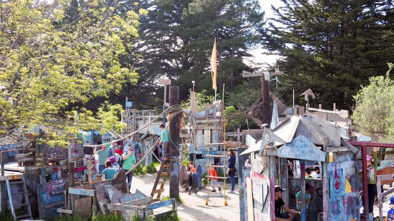 The Junk Playground Of New York City >> Take Your Kid To An Adventure Playground