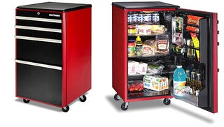 Illustration for article titled Craftworks Refrigerator Thinks It's a Toolbox