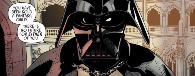 Illustration for article titled Darth Vader Doesn't Do Pep Talks