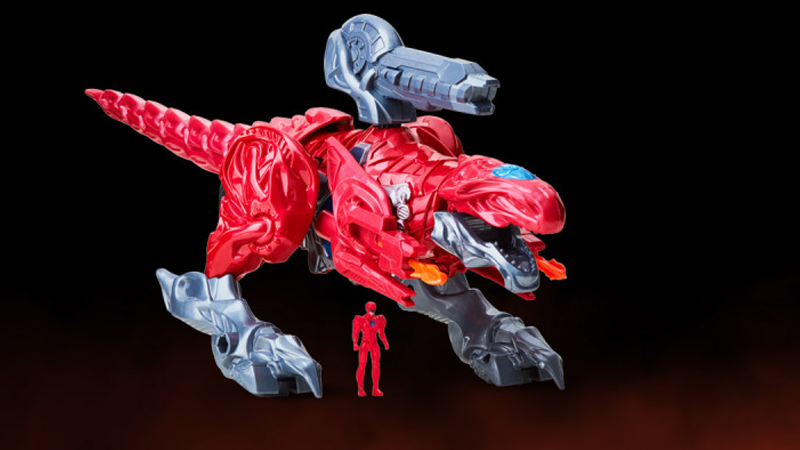 Illustration for article titled This Power Rangers Movie Toy Gives Us Our First Real Look at a Dinozord