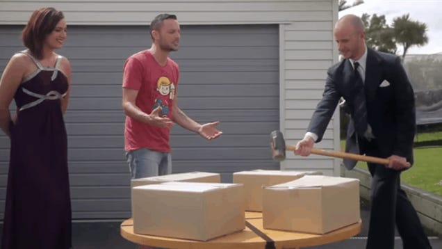 ps4 smashing prank goes horribly wrong in the best way