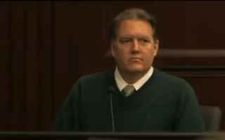 Michael Dunn testifying at his trialYouTube