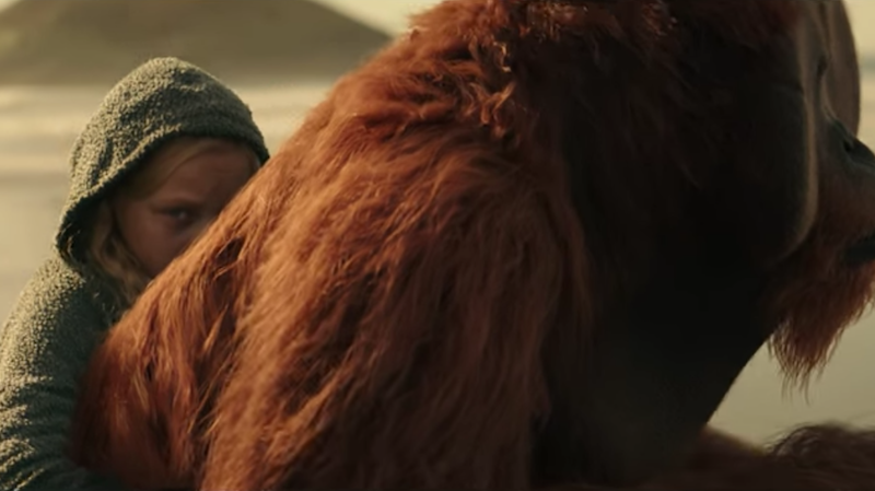 Image: Screenshot from the trailer for War for the Planet of the Apes, Fox