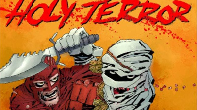 Illustration for article titled Frank Miller's Holy Terror finally gets a release date