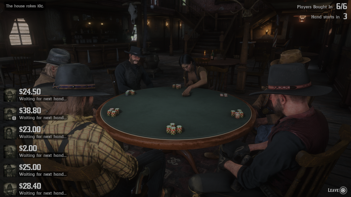 Poker In Red Dead Online Is Not Available Everywhere Due To Regional