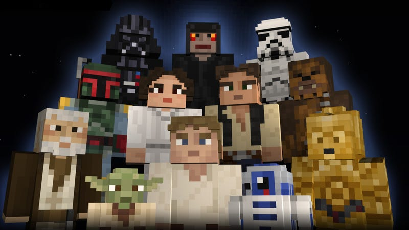 Officially licensed Star Wars skins for Minecraft. If passed, Article 13 of the European Union Copyright Directive might mean an internet where user content is policed while large corporations enjoy deals with intellectual property giants like Disney.