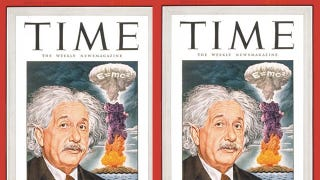 Illustration for article titled If Einstein Had Never Been Born, Would We Still Have Nuclear Weapons?