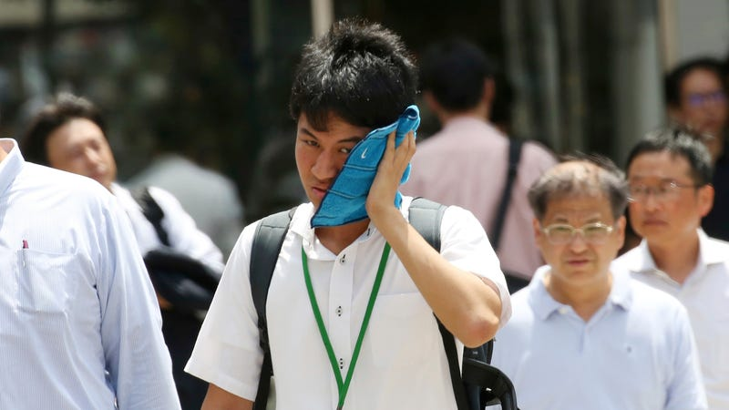 Illustration for article titled Japan Is the Latest Country to Break a Heat Record