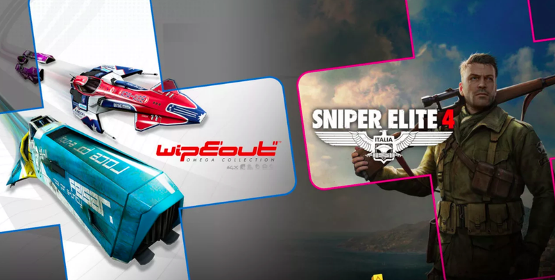 Illustration for article titled Sniper Elite 4 And Wipeout Omega Collection Are August's PlayStation Plus Games