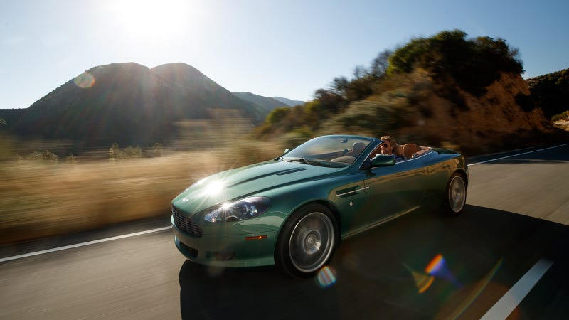 The Aston Martin DB Is Pretty But The DB Can Still Stop Your Heart - Aston martin db 9