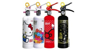 Illustration for article titled Hello Kitty Fire Extinguishers Exist in Japan. No, Really.