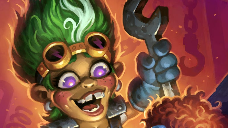 Illustration for article titled Say Hello To Hearthstone's New Most Annoying Card