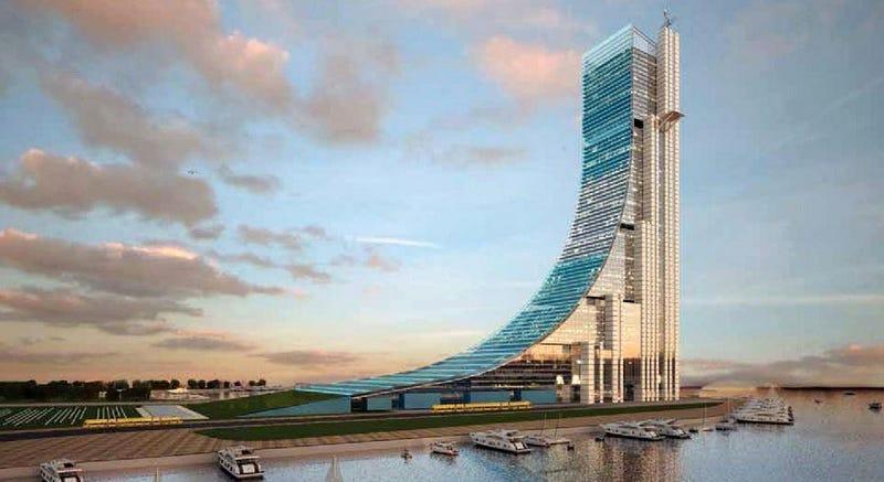 Illustration for article titled Este será el próximo rascacielos más alto de Latinoamérica